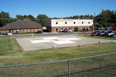 Aerial photo of TN31 (Cookeville Regional Medical Center Heliport)