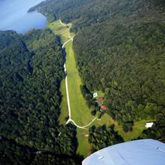 Aerial photo of 8TN7 (Short Creek Airport)