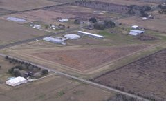 Aerial photo of 6R5 (Alvin Airpark)
