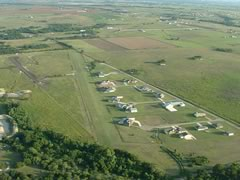 Aerial photo of 07TS (Cross Country Estates Airport-Marshall Field)