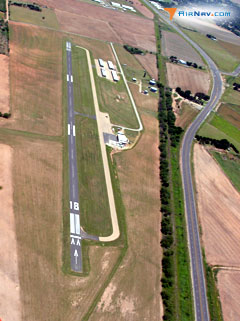 Aerial photo of 15F (Haskell Municipal Airport)