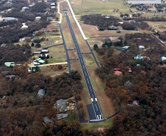 Aerial photo of 5TX0 (Hidden Valley Airpark)