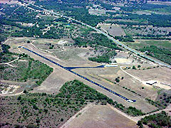 Aerial photo of T91 (The Carter Memorial Airport)