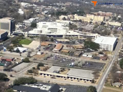 Aerial photo of 5TX7 (Medical Center Hospital Heliport)