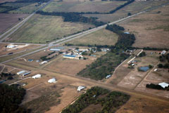 Aerial photo of 73F (Wings For Christ International Flight Academy Airport)