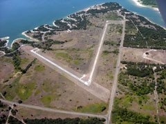 Aerial photo of F50 (Lake Whitney State Park Airport)