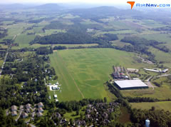 Aerial photo of VT8 (Shelburne Airport)
