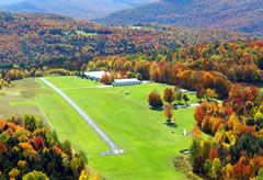 Aerial photo of 0B7 (Warren-Sugarbush Airport)