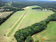 Aerial photo of 58VA (Walnut Hill Airport)