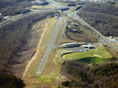 Aerial photo of W24 (Falwell Airport)