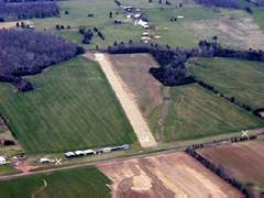 Aerial photo of VG57 (Maples Field Airport)