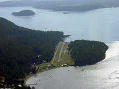 Aerial photo of 38WA (Blakely Island Airport)