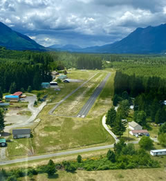 Aerial photo of 1S2 (Darrington Municipal Airport)
