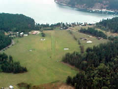 Aerial photo of 4WA4 (Windsock Airport)