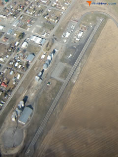 Aerial photo of 8W3 (Mansfield Airport)
