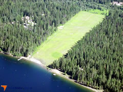 Aerial photo of 09S (Sullivan Lake State Airport)
