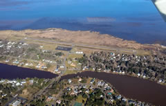 Aerial photo of W04 (Ocean Shores Municipal Airport)