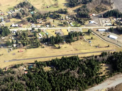 Aerial photo of 55S (Packwood Airport)