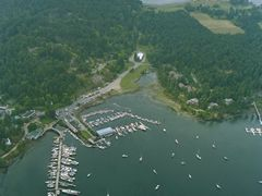 Aerial photo of W39 (Roche Harbor Seaplane Base)