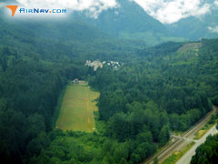 Aerial photo of S88 (Skykomish State Airport)