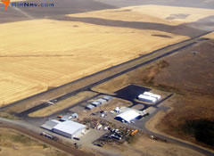 Aerial photo of 2S5 (Waterville Airport)