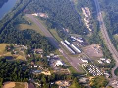 Aerial photo of 4G7 (Fairmont Municipal Airport-Frankman Field)