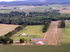 Aerial photo of WS69 (Log Cabin Airport)