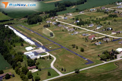 Aerial photo of 79C (Brennand Airport)
