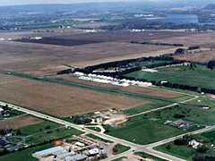 Aerial photo of 91C (Sauk-Prairie Airport)