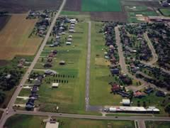 Aerial photo of 6P3 (Waunakee Airport)