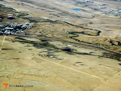 Aerial photo of 80V (Medicine Bow Airport)