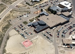 Aerial photo of WY49 (Memorial Hospital of Sweetwater County Heliport)