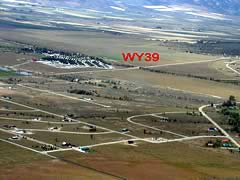 Aerial photo of WY39 (Star Valley Ranch Airport)