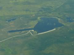 Aerial photo of 2A4 (Vor Lake Waterlane Seaplane Base)