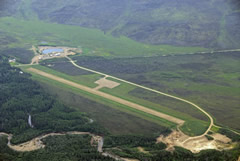 Aerial photo of PACE (Central Airport)