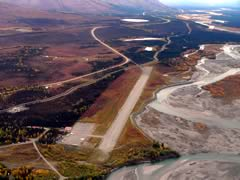 Aerial photo of PACX (Coldfoot Airport)