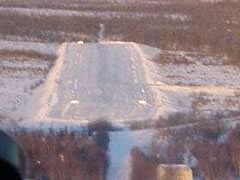 Aerial photo of CJX (Crooked Creek Airport)