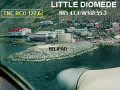 Aerial photo of PPDM (Diomede Heliport)