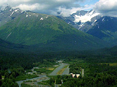 Aerial photo of AQY (Girdwood Airport)