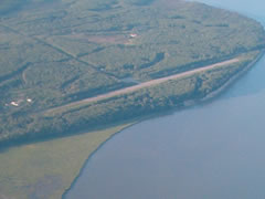 Aerial photo of Z40 (Goose Bay Airport)