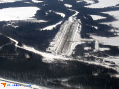 Aerial photo of PAHC (Holy Cross Airport)