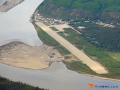 Aerial photo of PAHU (Hughes Airport)
