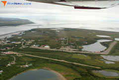 Aerial photo of 5NK (Naknek Airport)
