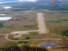 Aerial photo of PANW (New Stuyahok Airport)