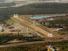 Aerial photo of 95Z (Bradley Sky-Ranch Airport)