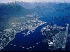 Aerial photo of A29 (Sitka Seaplane Base)