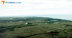 Aerial photo of PFWS (South Naknek Nr 2 Airport)