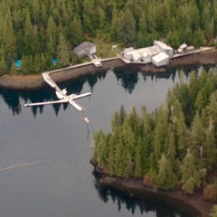 Aerial photo of 57A (Tokeen Seaplane Base)