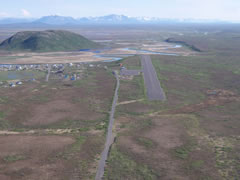 Aerial photo of A63 (Twin Hills Airport)