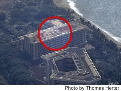 Aerial photo of HI50 (Hyatt Regency Maui Hotel Heliport)